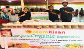 During sales promotion activity at MeraKisan
