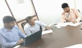 Netafim trainees at SBU Office, data analysis