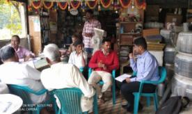 Netafim trainees visiting retail outlets